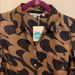 Boden Silk blend blouse - size 8